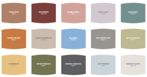 Universal Paint Behr 2020 Color Trends
