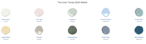 UPC - Benjamin Moore 2020 paint colors