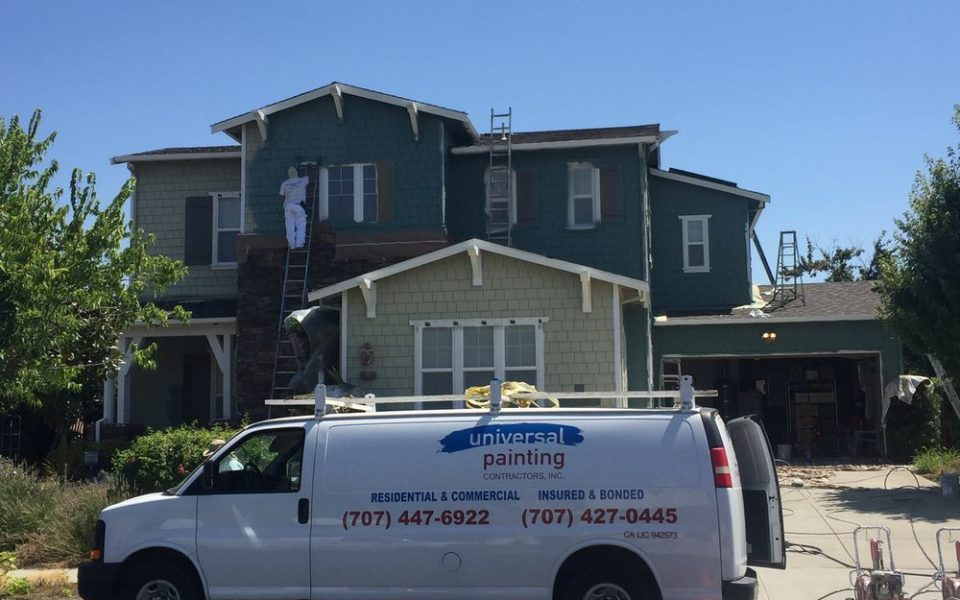 house painting Universal Painting Contractors, Inc, Fairfield CA