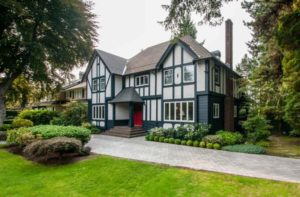 tudor style exterior painting